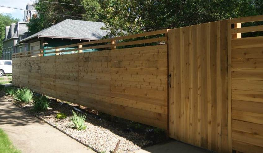 Fast2K Residential Wood Fence
