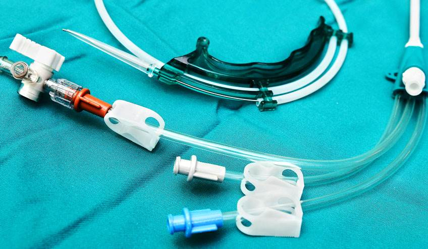 Medical device photo